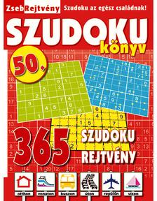 ZsebRejtvény SZUDOKU Könyv 50