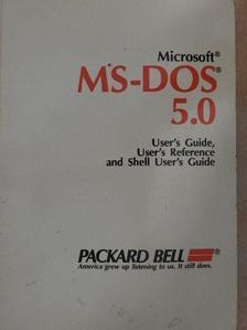 Microsoft MS-DOS 5.0 [antikvár]