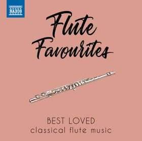 BACH, MOZART, SCHUBERT, DEBUSSY - FLUTE FAVOURITES BEST LOVED CD