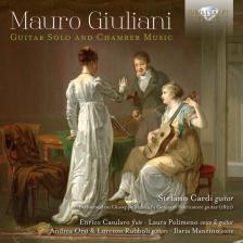 GIULIANI, MAURO - GUITAR SOLO AND CHAMBER MUSIC CD STEFANO CARDI