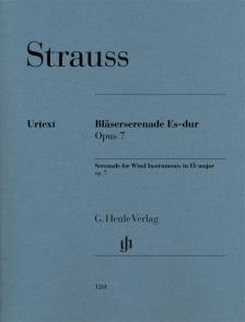 STRAUSS RICHARD - BLAESERSERENADE ES-DUR OP.7