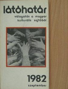 Aczél György - Látóhatár 1982. szeptember [antikvár]