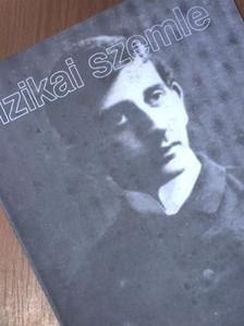 Federico Mayor - Fizikai Szemle 1999. január [antikvár]