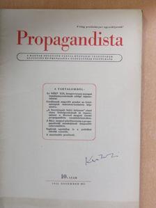 Aradi Vilmos - Propagandista 1952. december [antikvár]