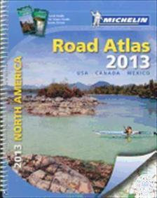 Michelin - USA / Kanada-dél / Mexikó atlasz 2013