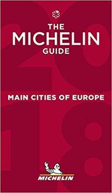 Európa fővárosai étteremkalauz 2018 (Red Guide) Michelin