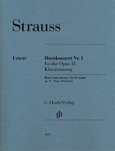 STRAUSS RICHARD - HORNKONZERT NR.1 ES-DUR OP.11, KLAVIERAUSZUG
