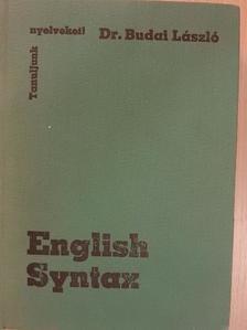 Dr. Budai László - English Syntax [antikvár]