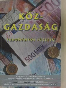 Artner Annamária - Köz-gazdaság 2008. május [antikvár]