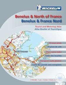 Michelin - Benelux é Észak-Franciaország autós atlasz 2013