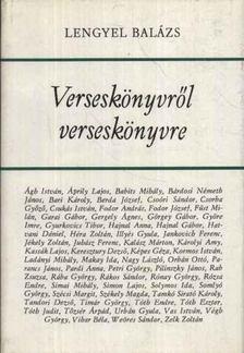 LENGYEL BALÁZS - Verseskönyvről verseskönyvre [antikvár]