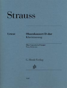 STRAUSS RICHARD - OBOENKONZERT D-DUR, KLAVIERAUSZUG