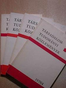Balogh István - Társadalomtudományi Közlemények 1979/1-4. [antikvár]