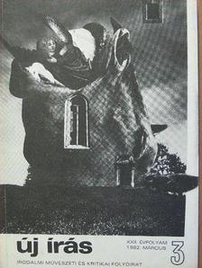 Pomogáts Béla - Új Írás 1982. március [antikvár]