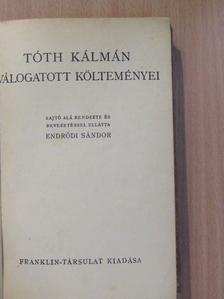 Tóth Kálmán - Tóth Kálmán válogatott költeményei [antikvár]