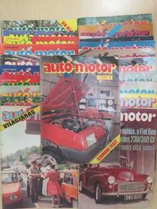 Almássy Tibor - Autó-Motor 1989. (nem teljes évfolyam)/Autó-Motor Magazin 1989. nyár-ősz [antikvár]