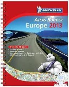Michelin - Európa atlasz 2013 (Michelin Motoring Atlas)