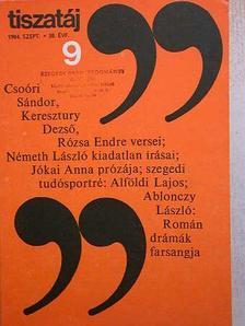 Ablonczy László - Tiszatáj 1984. szeptember [antikvár]