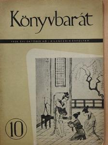 Bajomi Lázár Endre - Könyvbarát 1959. október [antikvár]