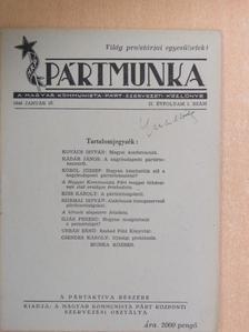Csendes Károly - Pártmunka 1946. január 15. [antikvár]