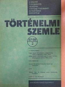 Ferber Katalin - Történelmi Szemle 1987-88/2. [antikvár]
