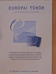 Csíki Tamás - Európai Tükör 2007. december - CD-vel [antikvár]