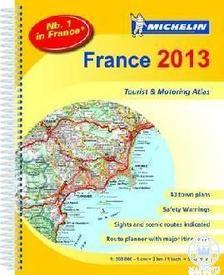 Michelin - Franciaország autóatlasz 2013
