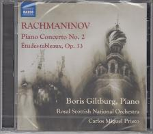 RACHMANINOV - PIANO CONCERTO NO.2,CD