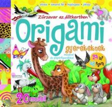JONATHAN MOSTOW - ORIGAMI - Zűrzavar az állatkertben