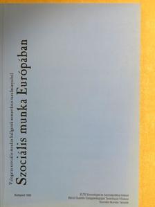 Ágostonné Alpár Vera - Szociális munka Európában [antikvár]