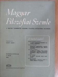 D. M. Ugrinovics - Magyar Filozófiai Szemle 1962/6. [antikvár]