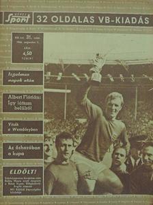 Naményi József - Képes Sport 1966. augusztus 1. [antikvár]