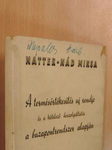 Natter-Nád Miksa - A termésértékesítés uj rendje és a kötelező beszolgáltatás a buzapontrendszer alapján II. [antikvár]