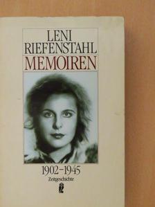 Leni Riefenstahl - Memoiren 1902-1945 [antikvár]