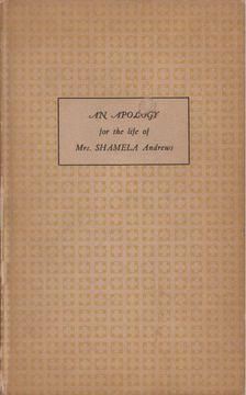 Henry Fielding - An Apology For The Life Of Mrs. Shamela Andrews [antikvár]