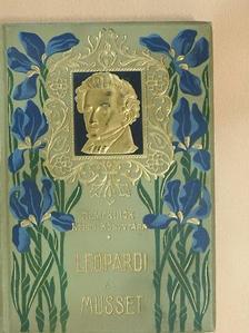 Alfred de Musset - Giacomo Leopardi összes lyrai versei/Alfred de Musset válogatott költeményei [antikvár]