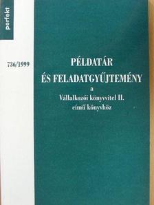 Dr. Fáy Józsefné - Példatár és feladatgyűjtemény a Vállalkozói könyvvitel II. című könyvhöz [antikvár]