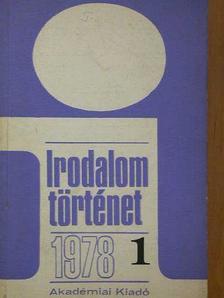 Andics Erzsébet - Irodalomtörténet 1978/1-4. [antikvár]