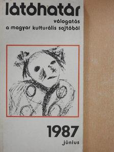 Abody Béla - Látóhatár 1987. június [antikvár]