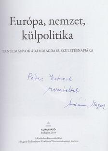 Borhi László - Európa, nemzet, külpolitika (dedikált) [antikvár]