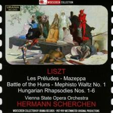 LISZT - LES PRELUDES - MAZEPPA - BATTLE OF HUNS 2CD