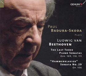 BEETHOVEN - PAUL BADURA SKODA PLAYS BEETHOVEN,2 CD