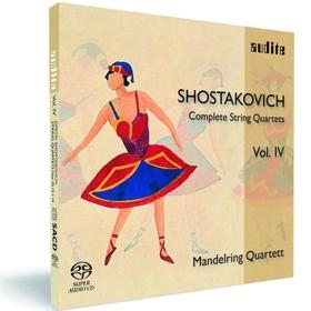 BEETHOVEN - COMPLETE STRING QUARTETS VOL.IV CD