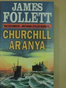 James Follett - Churchill aranya [antikvár]