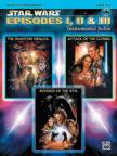 JOHN WILLIAMS - STAR WARS EPISODES I, II & III. INSTRUMENTAL SOLOS; PIANO ACC. LEVEL 2-3, CD INCLUDED