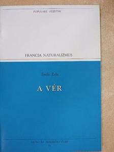 Émile Zola - A vér [antikvár]