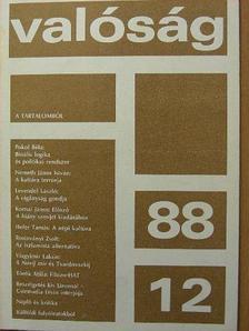 Gereben Ágnes - Valóság 1988. december [antikvár]