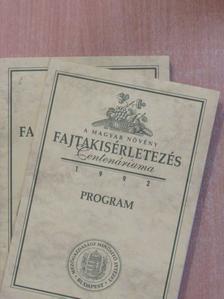 Dániel Trummer - A magyar növény fajtakisérletezés Centenáriuma 1992. I-II. [antikvár]