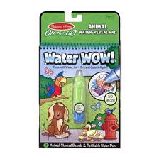 5376 - M&D - Kreatív játék, rajzolás vízzel, állatok