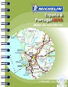 Michelin - Spanyolország / Portugália zsebatlasz 2013